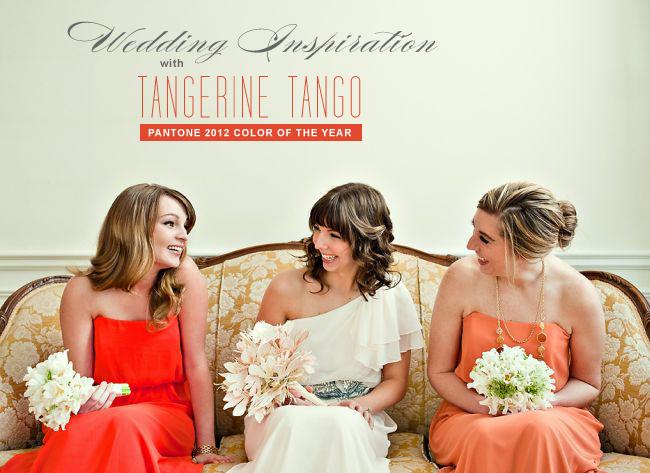 A colour story: Tangerine Tango Wedding | Pizazz! Florals Blog Tangerine Tango Wedding